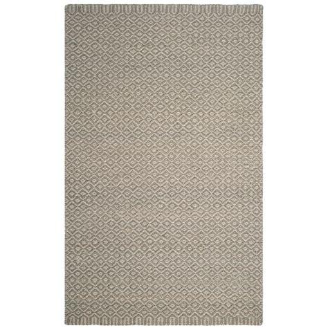 rugs for kitchen floors safavieh fiber gray 9 ft x 12 ft area rug nf473a 4951