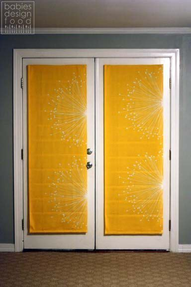 ideas  french door coverings  pinterest