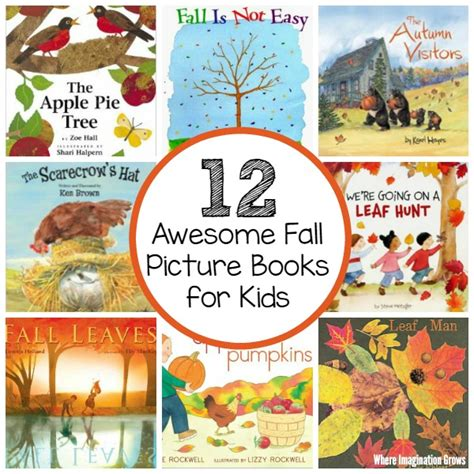 12 awesome fall picture books for preschoolers where 391 | 12 awesome fall picture books preschool autumn fb