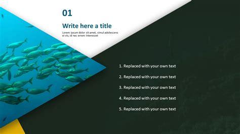 deep sea fish   template