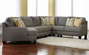 Ashley chamberly 4 piece sectional alloy sectionals for Sectional sofas raleigh