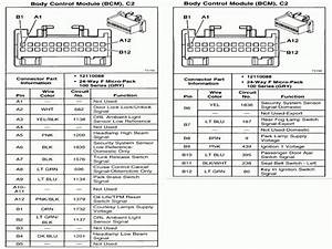 Fuse Diagram 2002 Pontiac Grand An