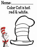 Hat Coloring Seuss Dr Cat Printables Preschool Cats Printable Activities Hats Sheets Mysunwillshine Crafts Sheet Week Colors Worksheets Outline Popular sketch template