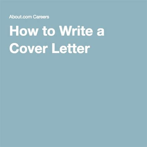 five tips for a successful cover letter best 25 writing a cover letter ideas on cover