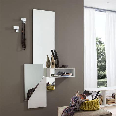 specchiere moderne per ingressi consolle ingresso design con specchio laccato e vano a