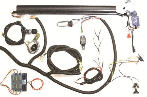 golf cart universal turn signal switch wire harness kit