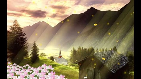 Beautiful Animation Wallpaper - beautiful landscape animated wallpaper http www