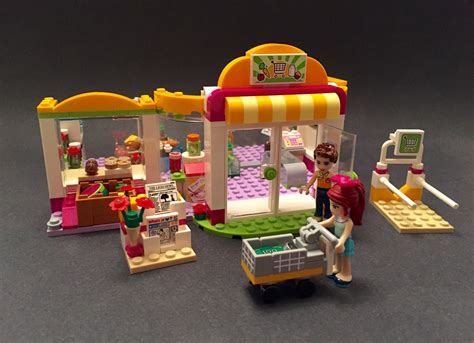 Lego Friends Heartlake Supermarket 41118 Review Sparking