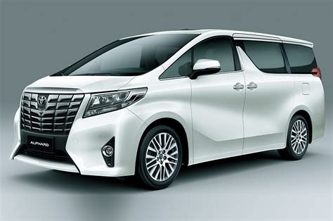 toyota evaluating alphard mpv  india launch auto expo