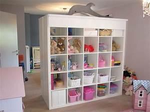 Rangement Chambre Enfants : meuble de rangement jouets chambre fabulous charming meuble de rangement chambre fille meuble ~ Melissatoandfro.com Idées de Décoration