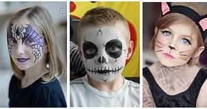 Maquillage D Halloween Pour Fille : halloween 20 maquillages faciles pour les enfants ~ Melissatoandfro.com Idées de Décoration