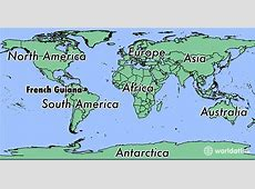 Where is French Guiana? Where is French Guiana Located