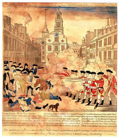 Boston Massacre by Bloedbad Van Boston Wikipedia
