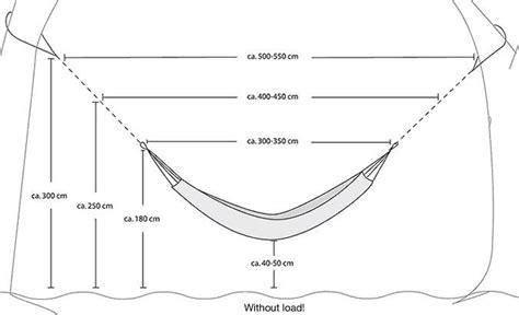 Standard Hammock Dimensions by Hammock Buyers Guide