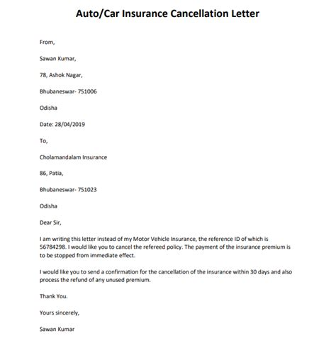 Writing an insurance cancellation letter can be an intimidating process. Powerful Insurance Cancellation Letter Samples and Format