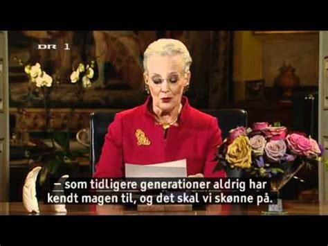 dronning margrethes nytarstale  hd youtube