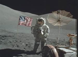 Moon landing conspiracy can't be right, says maths formula