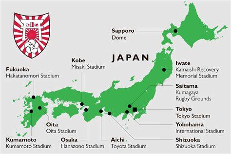 japan venues map msg tours