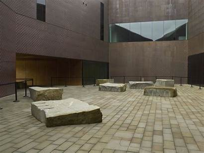 Stone Drawn Goldsworthy Andy Young Museum Courtyard
