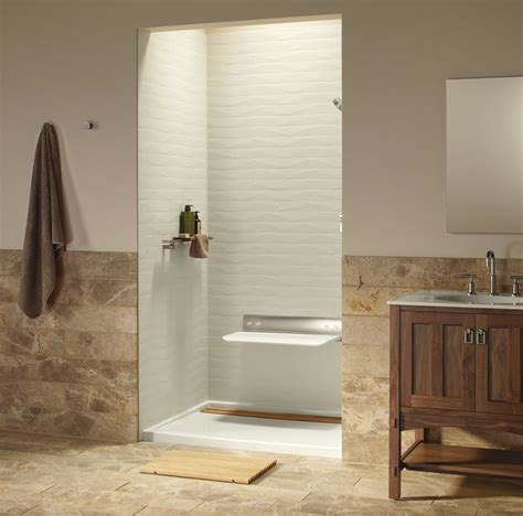 Bathroom Shower Walls - luxury shower wall panels accessories and storage system