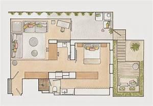 Aménagement Petit Appartement : agencement astucieux d 39 un 50m2 picslovin ~ Nature-et-papiers.com Idées de Décoration