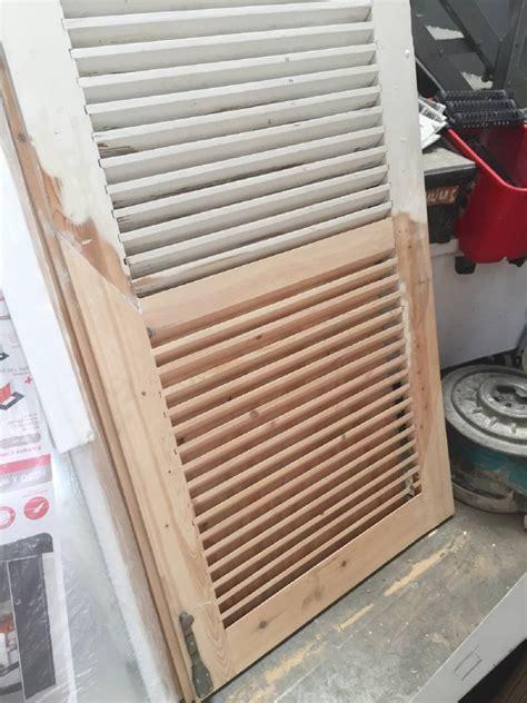 fabriquer ses volets bois fabriquer ses volets bois par un artisan proche le havre 76 peinture menuiserie et isolation