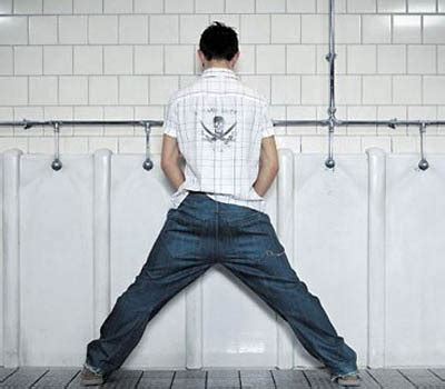 men  urinalstime      change archdaily