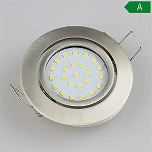 Spot Led Encastrable Plafond Faible Hauteur : spot led diam tre ~ Melissatoandfro.com Idées de Décoration