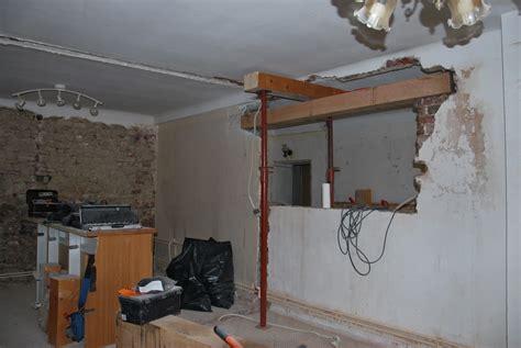 ouverture mur cuisine salon la maison qu 39 est à nous chantier 1 salon cuisine chauffage