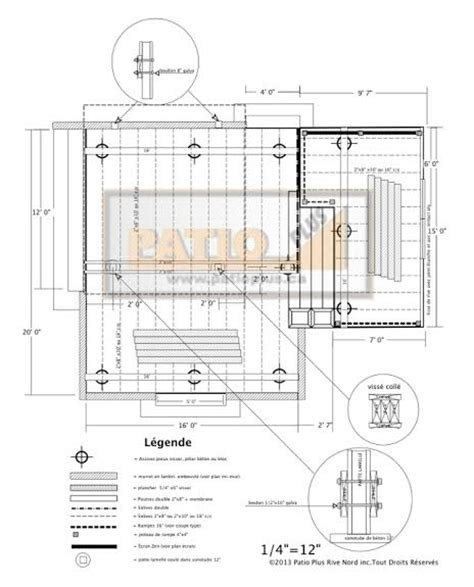 patio plus deck plan
