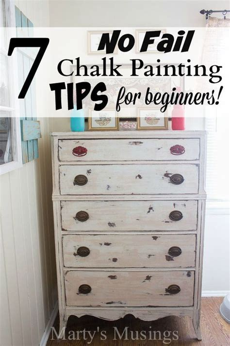 easy chalk painting tips  beginners