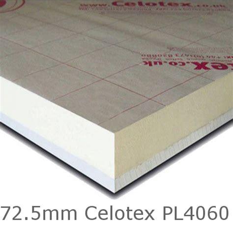 mm celotex pl mm pir insulation board