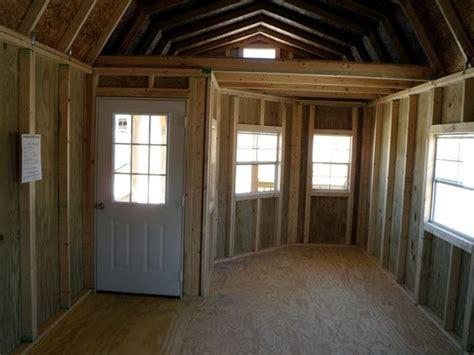derksen deluxe lofted barn cabin floor plans derksen portable deluxe lofted barn cabin home repairs