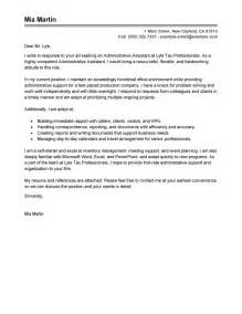 Admin Cover Letter Uk Best Administrative Assistant Cover Letter Exles Livecareer