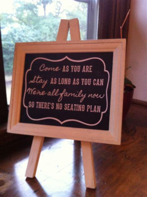 seating plan sign weddingbee photo gallery