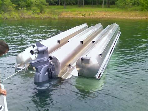 Bennington Pontoon Boat In Rough Water by Ban The Toon Geneva Lakefront Realty