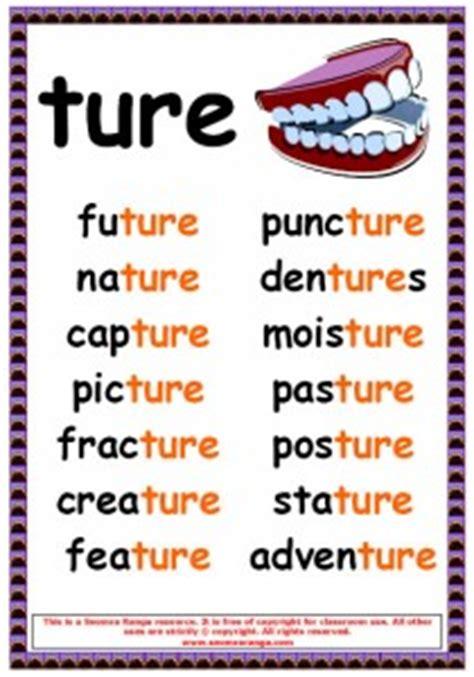 phonics poster ture words seomra ranga