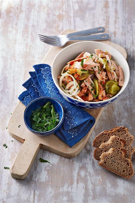 leckere salate rezepte scharfer wurstsalat recipe leckere salate salat