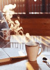 #happy #hello #coffee #morning #hand. morning tea GIFs Search | Find, Make & Share Gfycat GIFs