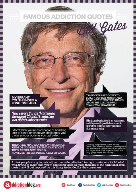 Bill Gates quotes on drugs and marijuana legalization ...