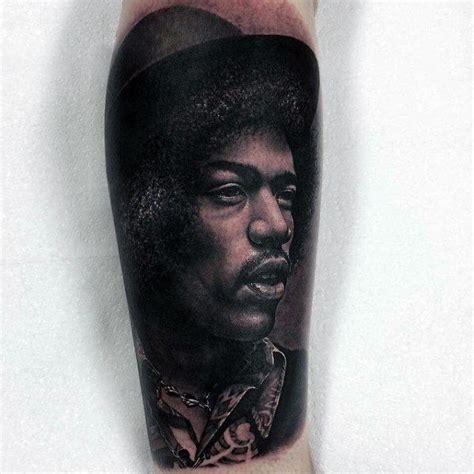 jimi hendrix tattoo designs  men musical ink ideas