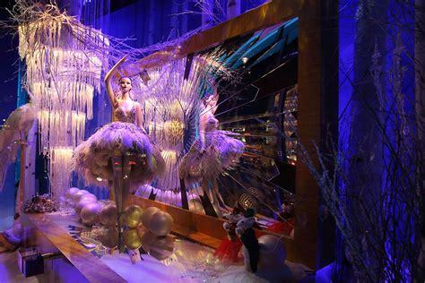 best christmas windows 2014 harper s bazaar