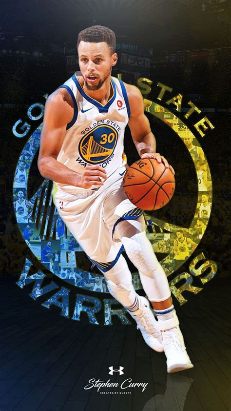 phone wallpapers  behance stephen curry basketball