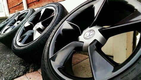 genuine vauxhall  alloy wheels tyres astra gtc