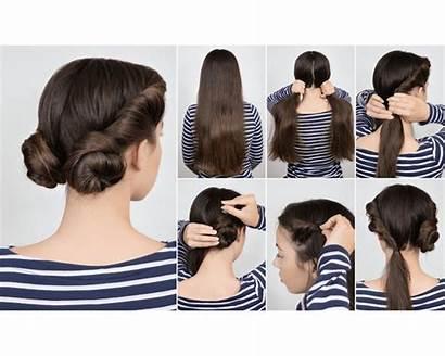 Hairstyle Hairstyles Simple Step Easy Bun Tutorial