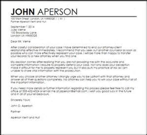 letter of termination sle letter firm retainer my letter about 8282
