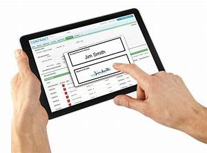 electronic signature capture software vanguard systems With electronic document signing software