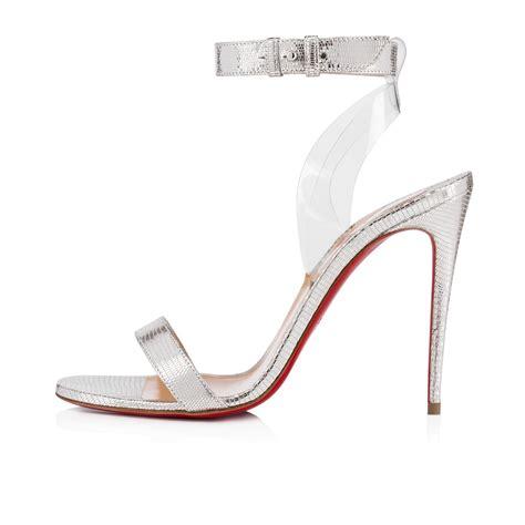shoes jonatina laminato dinopvc christian louboutin with laminato in pvc