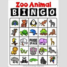 Zoo Animal Vocabulary Cards, Literacy Centers, Games And More Mega Bundle
