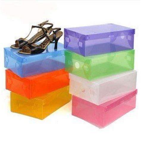 10 caixas organizadoras para sapatos coloridas sua bellezza